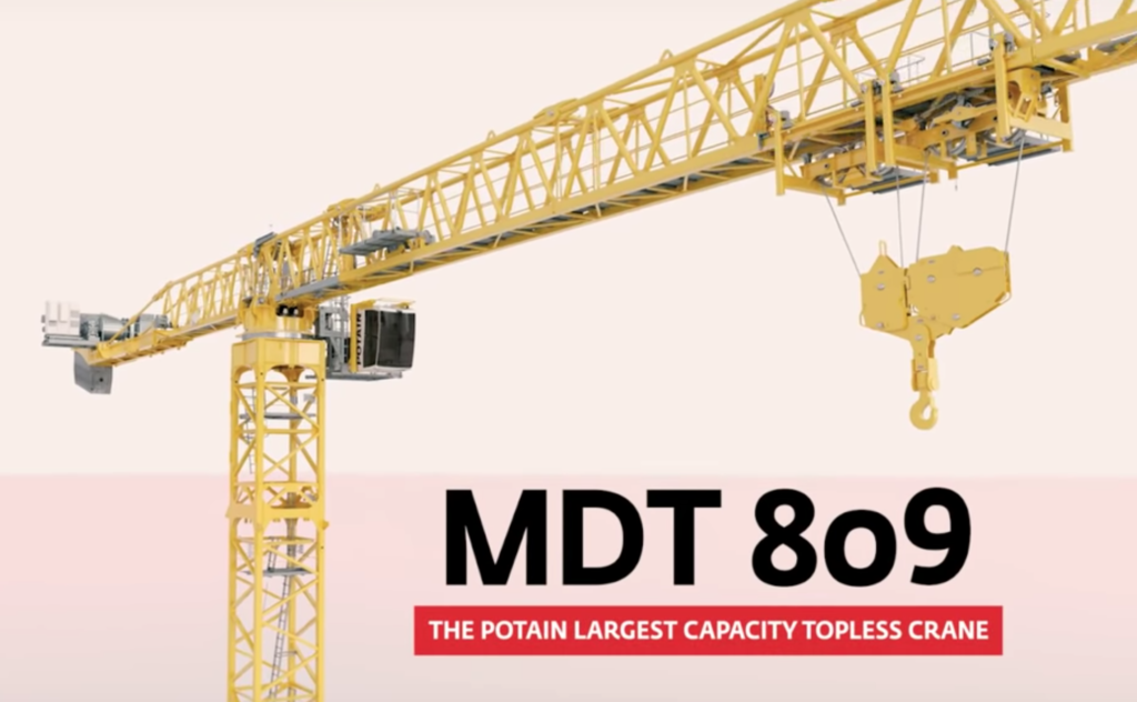 POTAIN MDT 809