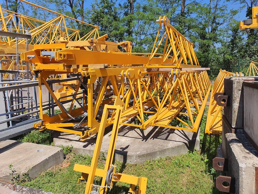 Sell used tower crane POTAIN E10.14C